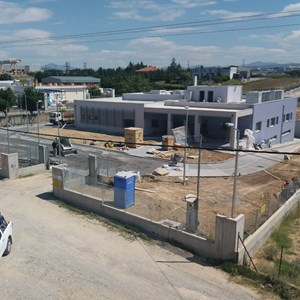 New Ground floor Industrial Building with basement in the industrial area of Lakoma, Chalkidiki